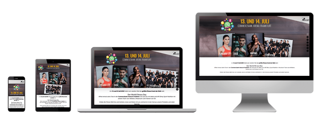 OLIMP World Fitness Day responsive