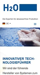 Referenz H2O GmbH Mobile